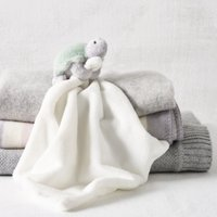 Turtle Comforter, White, One Size