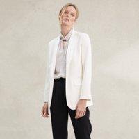 Tuxedo Jacket , Ivory, 12