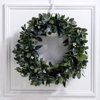Ultimate Green & Berry Wreath, Natural, One Size