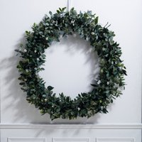 Ultimate Green & Berry Wreath - 1m, Natural, One Size
