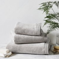 Ultimate Turkish Cotton Face Cloth, Pearl Grey, Face Cloth