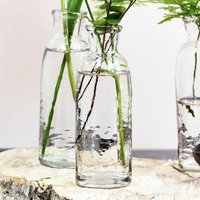 Organic Roll Top Vase