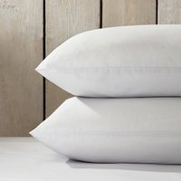 Essentials Egyptian Cotton Classic Pillowcase - Single, Silver, Standard