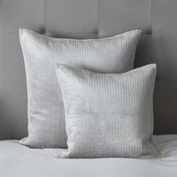 Vienne Cushion Cover, Silver, Large Square