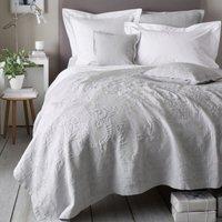 Vintage Etienne Bedspread, Grey, Double
