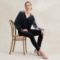 Velvet Symons Jeans, Black, 12