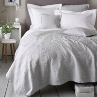 Vintage Etienne Bedspread, Grey, Single