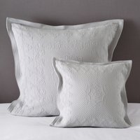 Vintage Etienne Cushion Cover, Grey, Large Square
