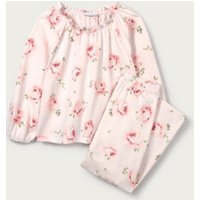 Vintage Rose Pyjamas (1-12yrs), Pink, 9-10yrs