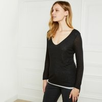Double Layer T-Shirt with Wool