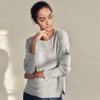 Wool-Cotton Love Sleeve Jumper