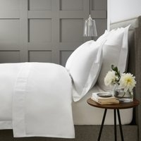 Westbourne Duvet Cover, White, Single