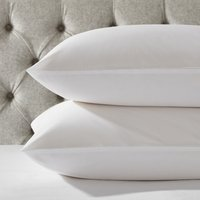 Essentials Egyptian Cotton Classic Pillowcase - Single, White, Standard