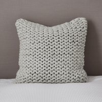Wilby Cushion Cover, Silver Grey, Medium Square