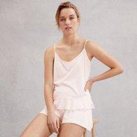 Woven Hem Pyjama Set