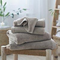 Waffle Edge Spa Towels, Pebble, Hand Towel
