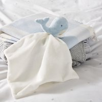 Wally Whale Comforter, Blue, One Size