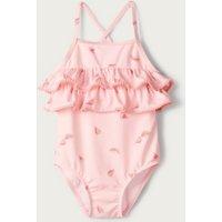 Watermelon Swimsuit, Pink, 3-6mths