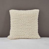 Wilby Cushion Cover, Alabaster, Medium Square