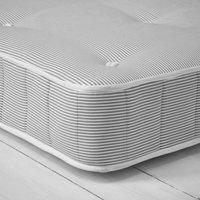 double cheshire mattress, Grey Stripe, Double
