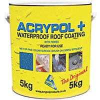 Acrypol+ Waterproof Coating - Grey 5kg