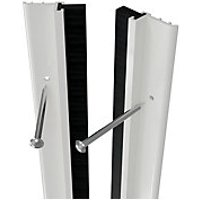 Wickes Full Door PVC Draught Excluder White 5028mm