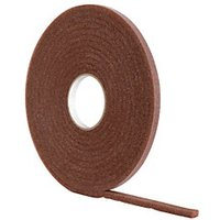 Wickes Soft Foam Draught Seal Brown 10m