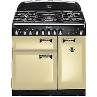 Rangemaster Elan 90 Range Cooker Cream & Chrome