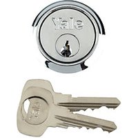 Yale P-1109-SC Replacement Cylinder Satin Chrome