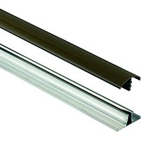 Wickes Brown Universal Glazing Bar for Polycarbonate Sheets 3000mm