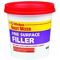 Wickes Fine Surface Ready Mixed Fine Surface Filler 600g