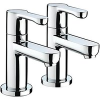 Bristan Nero Basin Taps - Chrome