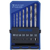 Dremel Precision 7 Piece Drill Bit Set