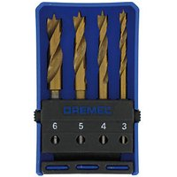 Dremel 4 Piece Wood Drill Bit Set