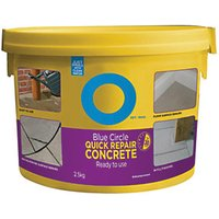 Click to view product details and reviews for Blue Circle Quick Repair Concrete 25kg.