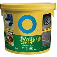 Click to view product details and reviews for Blue Circle Extra Rapid Setting Cement 5kg.