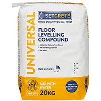 Click to view product details and reviews for Setcrete Universal Floor Levelling Compound 20kg.