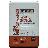 Click to view product details and reviews for Setcrete High Performance Floor Levelling Compound 20kg.