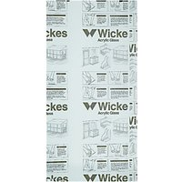 Wickes Durable Acrylic Clear Sheet - 900mm x 1.8m