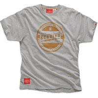 Scruffs Seal T Shirt Grey Extra Large