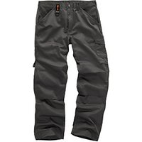 Scruffs Graphite Worker Trousers - 32W 33L
