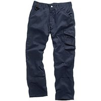 Scruffs Worker Trouser Navy - 36W 35L