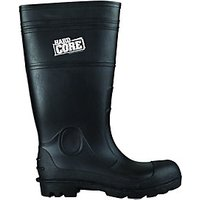 Scruffs Hardcore Safety Wellington Boot - Black Size 9