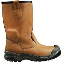 Scruffs Work Gravity Safety Rigger Boots Tan Size 12