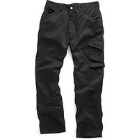 Scruffs Work Trousers Black 30W 31 L