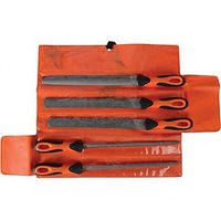Bahco 5 Piece File Set in Wallet 10in