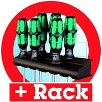 Wera Slotted & Pozi 6 Piece Screwdriver Set