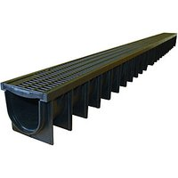 Clark-Drain Polypropylene Channel & Grate 1000mm