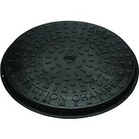 Wickes Black Drain Chamber Cover & Frame 450mm