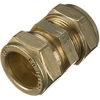 Wickes Compression Straight Coupling 15mm PK10